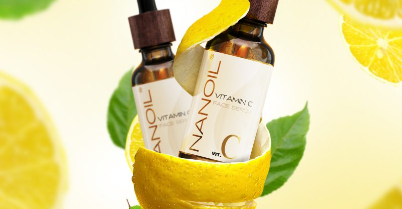 Nanoil recommended face serum with vitamin c